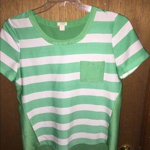 J. Crew Tops - Jcrew size small silky shirt