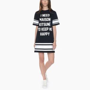 MAISON KITSUNE Dresses & Skirts - Maison Kitsuné 'I Need' dress