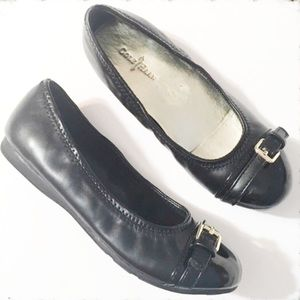 Cole Haan Other - Cole Haan Black Christina Ballet Flat Size 1 Girl