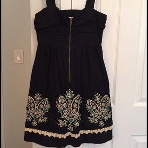 Anthropologie Floreat Embroidered Dress.