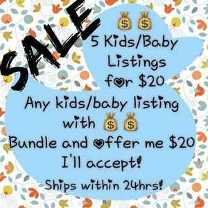 Other - NEW items added! 💰💰5 baby/kids listings for $20!