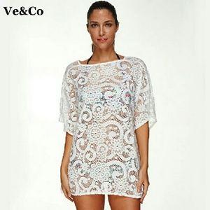 Dresses & Skirts - Cover up Swimwear Cover Ups Crochet Beach Dress Tu
