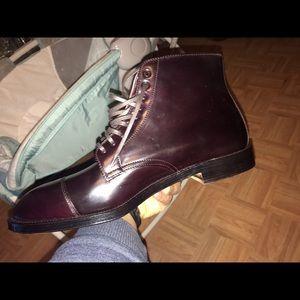 8a81c95822 Alden Shoes - Alden mens handmade cap toe boots size 12