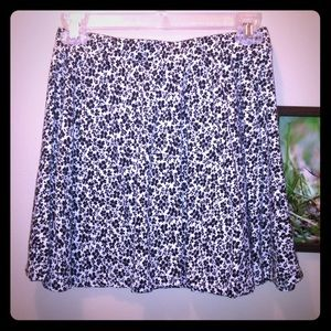 Cute flower skater skirt