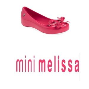 Mini Melissa Other - Mini melissa, size 13, ultragirl flat, hot pink