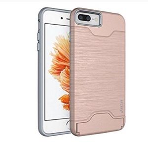 iPhone 7/7plus case with credit card slot