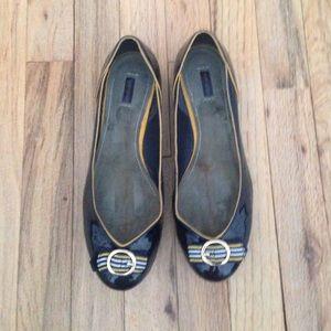 Kurt Geiger Shoes - Kurt Geiger dark navy flats