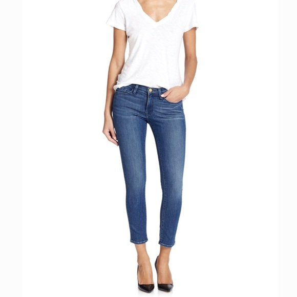 ❗️LOFT Slim Cropped Denim Jeans
