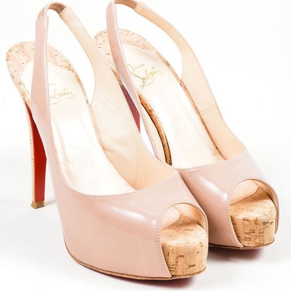 c2579d4947b Christian Louboutin Shoes - Christian Louboutin So Private 120 Nude  slingback