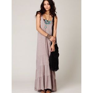 Free People Dresses & Skirts - CCO🎉{FP Beach}Ruffle Tiered Maxi Sleeveless Dress