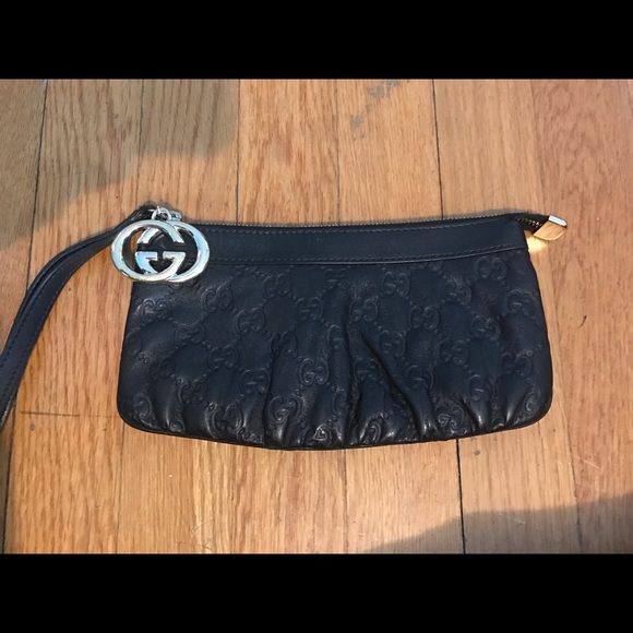 67a29d89dea Gucci Handbags - Gucci Leather GG Wristlet