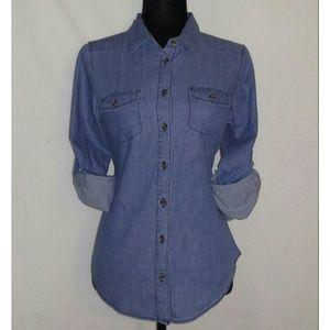 Tops - Chambray Shirt