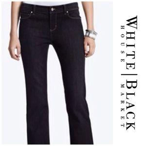 White House Black Market Denim - WHBM Black Bootcut Jeans