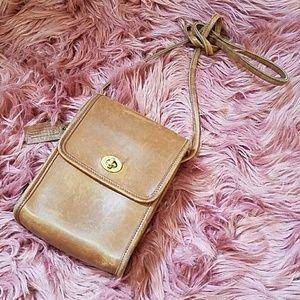 Coach Handbags - Vintage Coach Scooter 9893 Crossbody British Tan