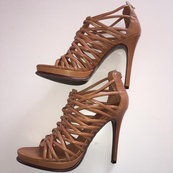Brown Gladiator Heels
