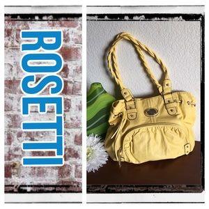 Rosetti Handbags - Rosetti buttercream yellow tote shoulder bag