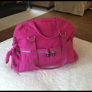 Kipling Handbags - KIPLING 🐒 EUGENA in Very Berry pink
