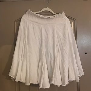 White Anthropologie Skirt