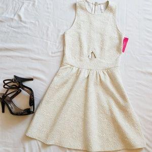 Dresses & Skirts - NWT Ivory Cut-Out Dress