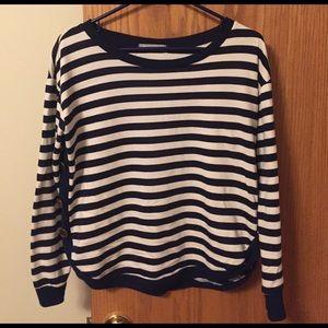 Olivia Moon Sweaters - Striped lightweight sweater sz Med