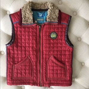 Oilily Other - Oilily Kids' Crop Chopper Quilted Vest size 7-8