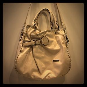Off White Rustic Coutures Western Style Handbag