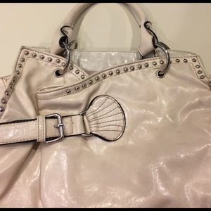 Rustic Coutures Bags - Off White Rustic Coutures Western Style Handbag
