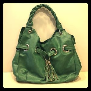 Handbags - Green Handbag