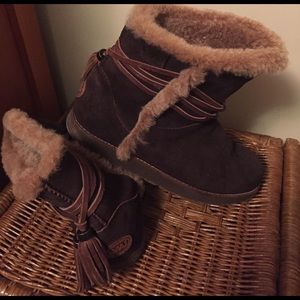 Emu Shoes - Brown EMU oakleigh style Boots size 8 (39) (ugg)