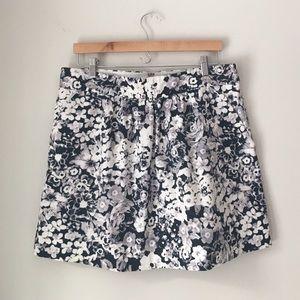 GAP Dresses & Skirts - GAP Flower Print Cotton Twill Skirt