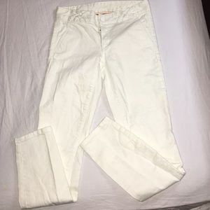 Tory burch jeans white