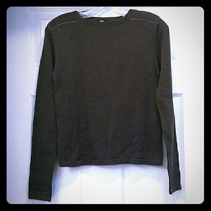 Mango grey military sweater