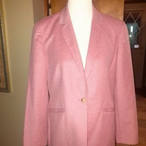 Lands' End Jackets & Blazers - LANDS END Sz.8 Wool/Cashmere Mauve Blazer