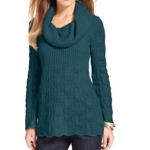 Style & Co Cowel neck Tunic Sweater