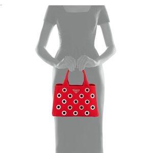Prada Handbags - 💕💕ON SALE💕💕PRADA Canapa Grommet Tote