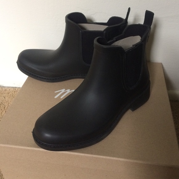 Madewell Chelsea Rain Boots In Matte