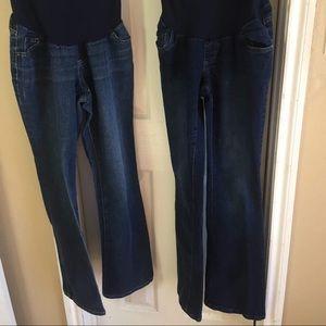 s.o.n.g maternity jeans on Poshmark