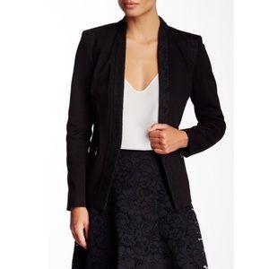Rebecca Taylor Jackets & Blazers - New REBECCA TAYLOR Black Executive Lace Blazer
