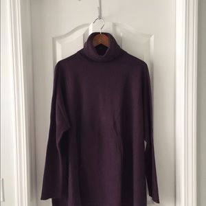 Garnet Hill turtleneck sweater