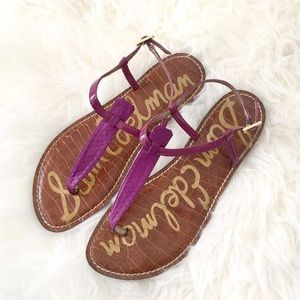 Sam Edelman Purple Gigi Sandals Sz 8