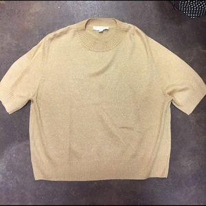 Gold St. John Sweater - Size Large