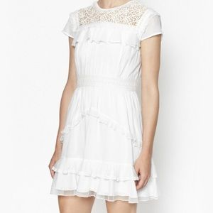 French Connection white dress