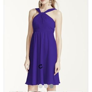 David's Bridal Dresses & Skirts - BRAND NEW David's Bridal Halter Dress/Prom