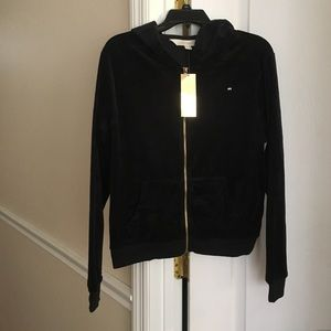 Nikki Minaj Black Hooded Jacket Size XL NWT