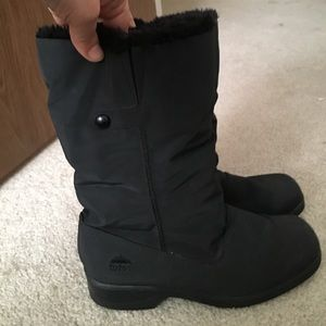 Totes Shoes - Black Boots