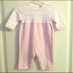 Kissy Kissy Other - 🎉HP🎉 Kissy Kissy Baby pink knit jumper