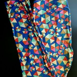 LuLaRoe TC geometric leggings, BNWT