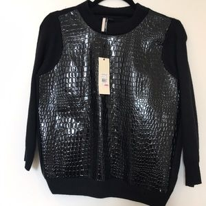 Topshop Sweaters - (BNWT) Topshop luxury design collection sweater