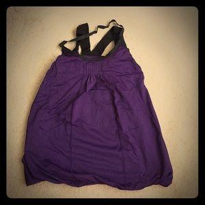 lululemon athletica Tops - Lululemon Dark Purple Workout Tank 4