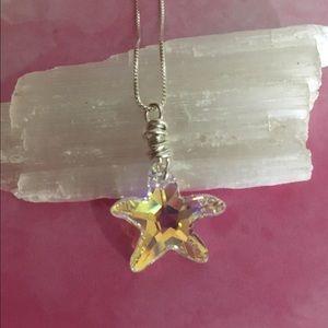 🌙🌟 Swarovski Starfish Pendant
